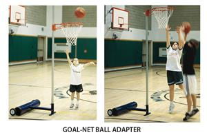 Portable Basketball Goal-Net Ball Adapter EZNB-10
