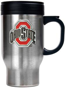 NCAA Ohio State Stainless Steel Travel Mug 16oz.