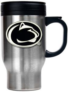 NCAA Penn State Stainless Steel Travel Mug 16oz.