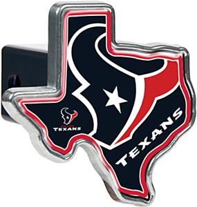 NFL Houston Texans Texas Shaped Trailer Hitch