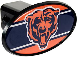 NFL Chicago Bears Oval Trailer Hitch Cover