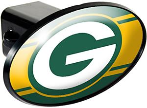 NFL Green Bay Packers Oval Trailer Hitch Cover