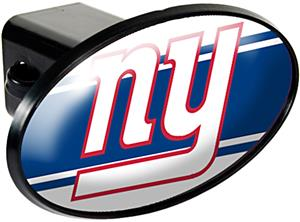 NFL New York Giants Oval Trailer Hitch Cover