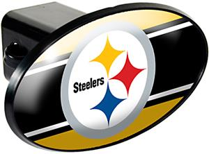 NFL Pittsburgh Steelers Oval Trailer Hitch Cover