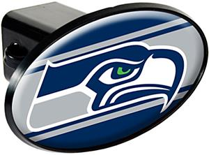 NFL Seattle Seahawks Oval Trailer Hitch Cover
