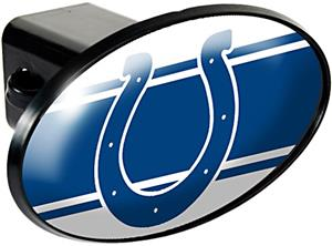 NFL Indianapolis Colts Oval Trailer Hitch Cover