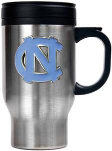NCAA Tar Heels Stainless Steel Travel Mug 16oz.