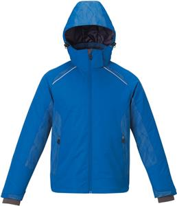 North End Mens Linear Insulated Jacket W/Print