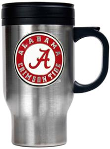 NCAA Alabama Stainless Steel Travel Mug 16oz.