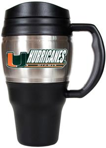 NCAA Miami Hurricanes Heavy Duty Travel Mug