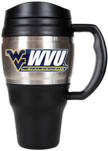 NCAA West Virginia Heavy Duty Travel Mug