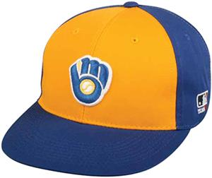 OC Sports MLB Milwaukee Brewers Home Cap