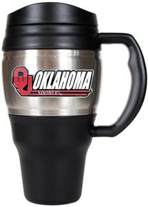 NCAA Oklahoma Sooners Heavy Duty Travel Mug