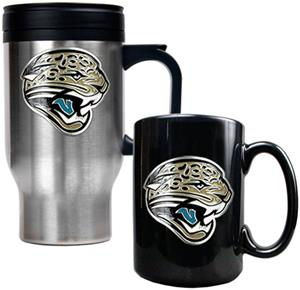NFL Jacksonville Jaguars Travel Mug & Coffee Mug