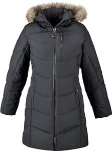 North End Boreal Ladies Down Jacket W/Faux Fur