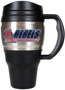 NCAA Mississippi Rebels Heavy Duty Travel Mug