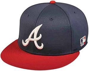 OC Sports MLB Atlanta Braves Mesh Home Cap 3D Logo