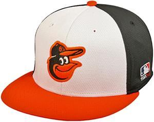 OC Sports MLB Baltimore Orioles Mesh Home Cap