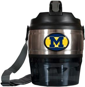 NCAA Michigan Wolverines Heavy Beverage & Grub Jug