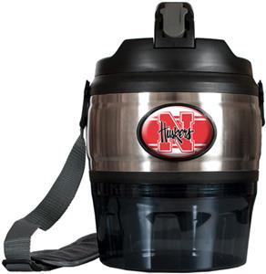NCAA Nebraska Cornhusker Heavy Beverage & Grub Jug