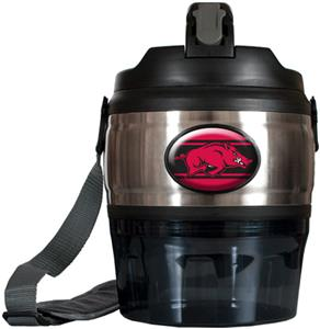 NCAA Arkansas Razorbacks Heavy Beverage & Grub Jug