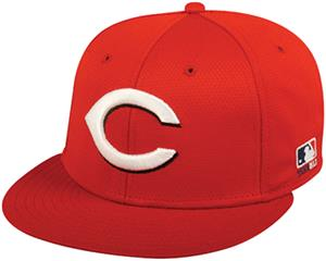OC Sports MLB Cincinnati Reds Mesh Home Cap