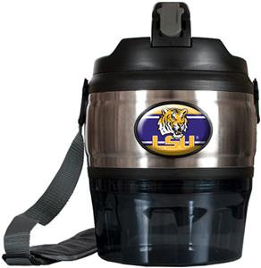 NCAA LSU Tigers Heavy Beverage & Grub Jug