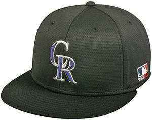OC Sports MLB Colorado Rockies Mesh Home Cap