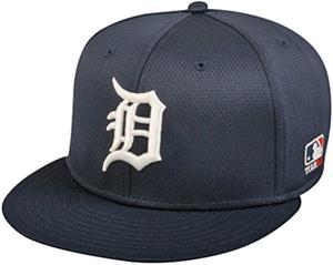OC Sports MLB Detroit Tigers Mesh Home Cap 3D Logo