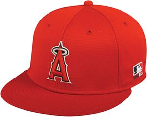 OC Sports MLB Los Angeles Angels Mesh Home Cap
