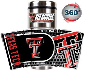 Texas Tech Travel Tumbler Hi-Def Metallic Graphics
