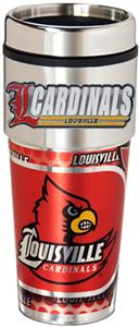 Louisville Travel Tumbler Hi-Def Metallic Graphics