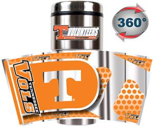 Tennessee Travel Tumbler Hi-Def Metallic Graphics