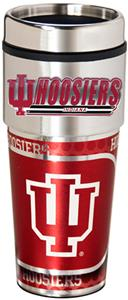 Indiana Travel Tumbler Hi-Def Metallic Graphic