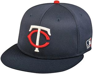 OC Sports MLB Minnesota Twins Mesh Home Cap