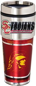 USC Trojans Travel Tumbler Hi-Def Metallic Graphic