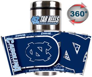 Tar Heels Travel Tumbler Hi-Def Metallic Graphics