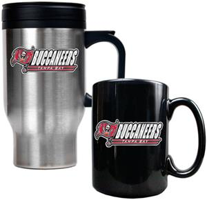 NFL Tampa Bay Buccaneers Travel Mug & Coffee Mug
