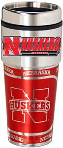 Nebraska Travel Tumbler Hi-Def Metallic Graphics