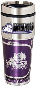 Horned Frog Travel Tumbler Hi-Def Metallic Graphic