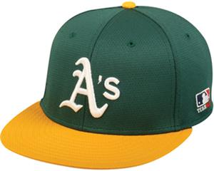 OC Sports MLB Oakland Athletics Mesh Home Cap