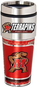 Maryland Travel Tumbler Hi-Def Metallic Graphics