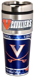 Virginia Travel Tumbler Hi-Def Metallic Graphics