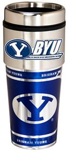 Cougars Travel Tumbler Hi-Def Metallic Graphics