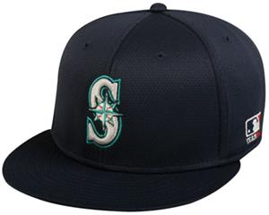 OC Sports MLB Seattle Mariners Mesh Home Cap