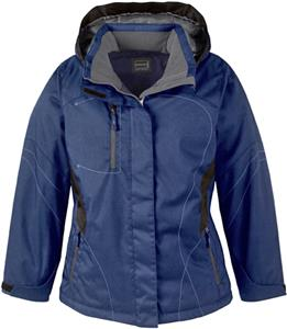 North End Sport Traverse Ladies Textured Jacket