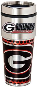 Georgia Travel Tumbler Hi-Def Metallic Graphics