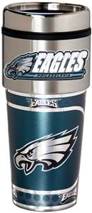 NFL Philadelphia Eagles Tumbler w/ Metallic Wrap