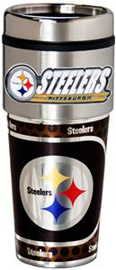 NFL Pittsburgh Steelers Tumbler w/ Metallic Wrap