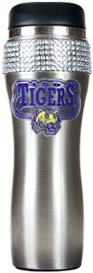 NCAA LSU Stainless Steel Bling Travel Tumbler